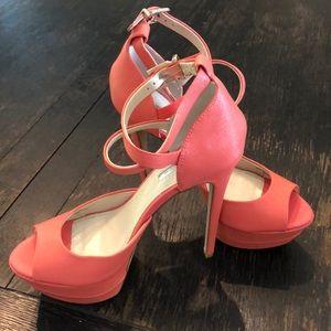 Coral bcbg shoes